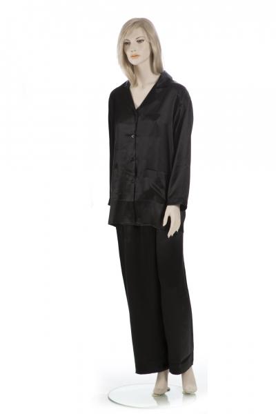 68dff0ff4d SEIDE-PUR - Seide pur, Pyjama, Schlafanzug, Damen, 100% Seide ...